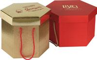 Scatole di natale porta panettone scatole regalo per - Scatole porta panettone ...