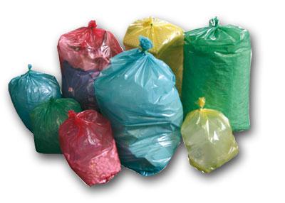 Produzione di sacchi per rifiuti e raccolta differenziata - Porta spazzatura differenziata ...